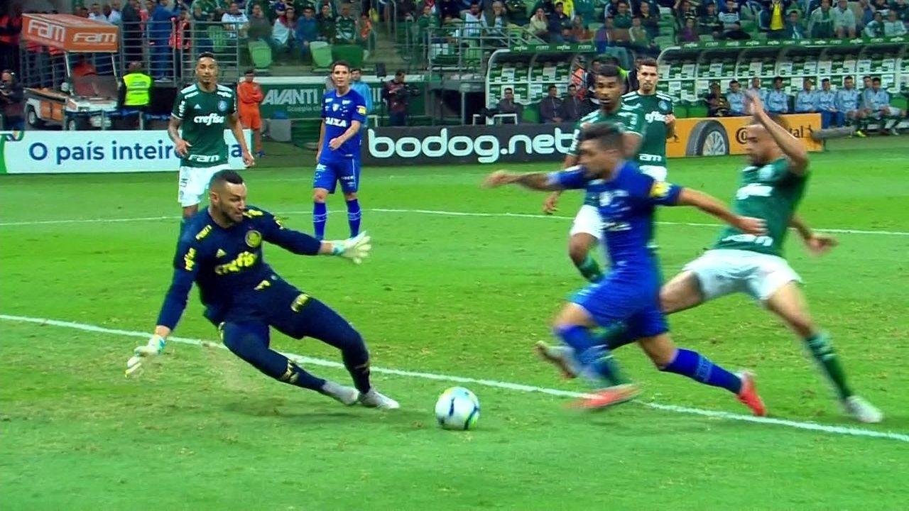 Melhores momentos: Palmeiras 0 x 1 Cruzeiro pela semifinal da Copa do Brasil