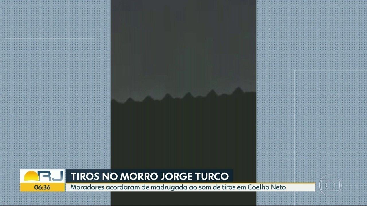 Tiroteios são registrados na comunidade Jorge Turco e Cidade de Deus