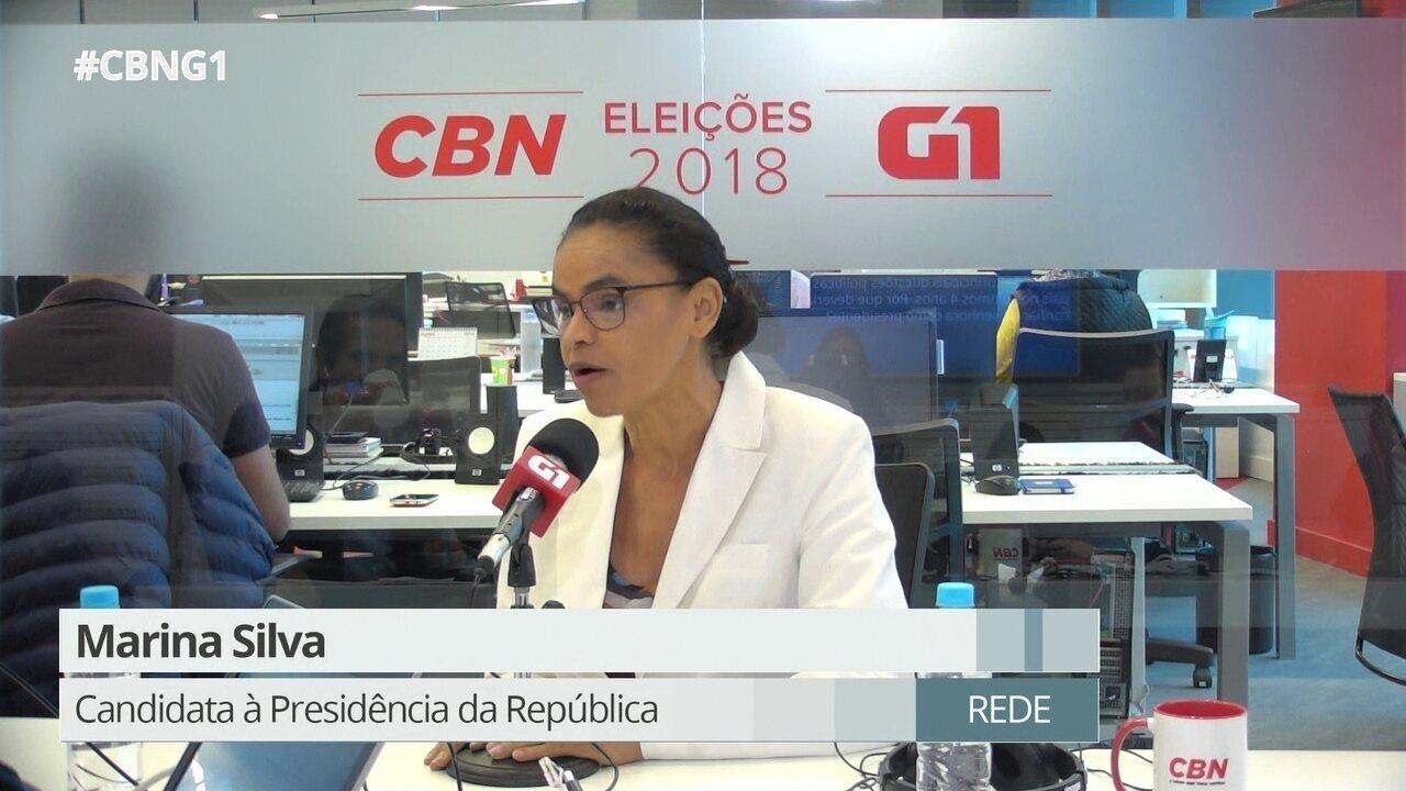 Marina fala sobre segurança pública, homicídios e violência contra a mulher
