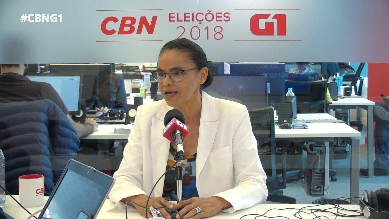 Parte 6: Marina Silva fala sobre saúde e redução do desemprego