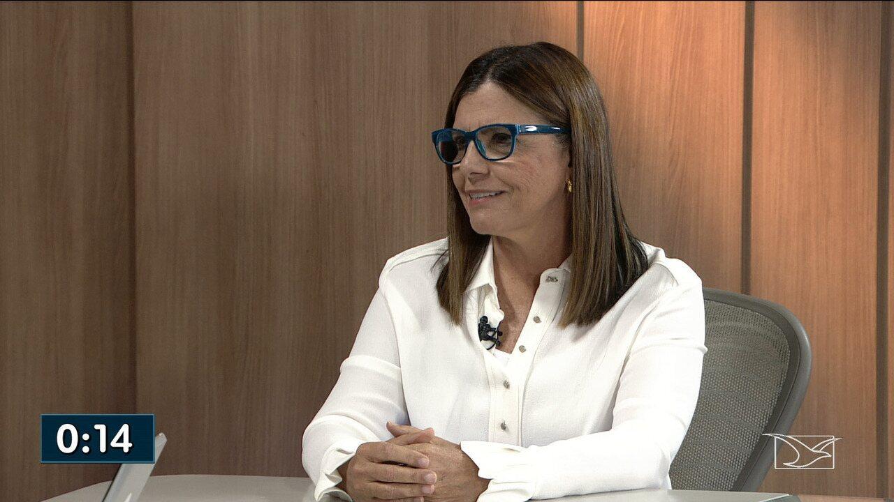 Roseana Sarney é entrevistada no JMTV1