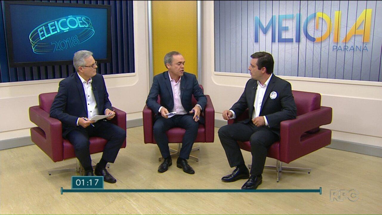 Veja a entrevista com João Arruda (MDB), candidato ao Governo