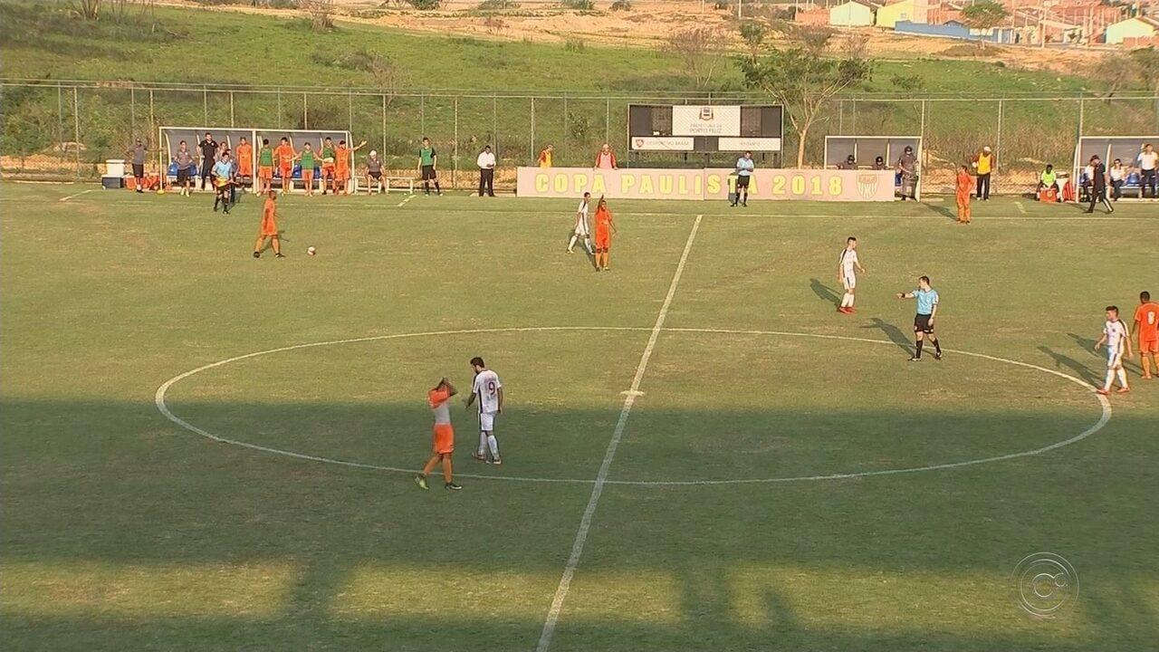 Em Porto Feliz, Desportivo Brasil e Ferroviária empatam pela Copa Paulista