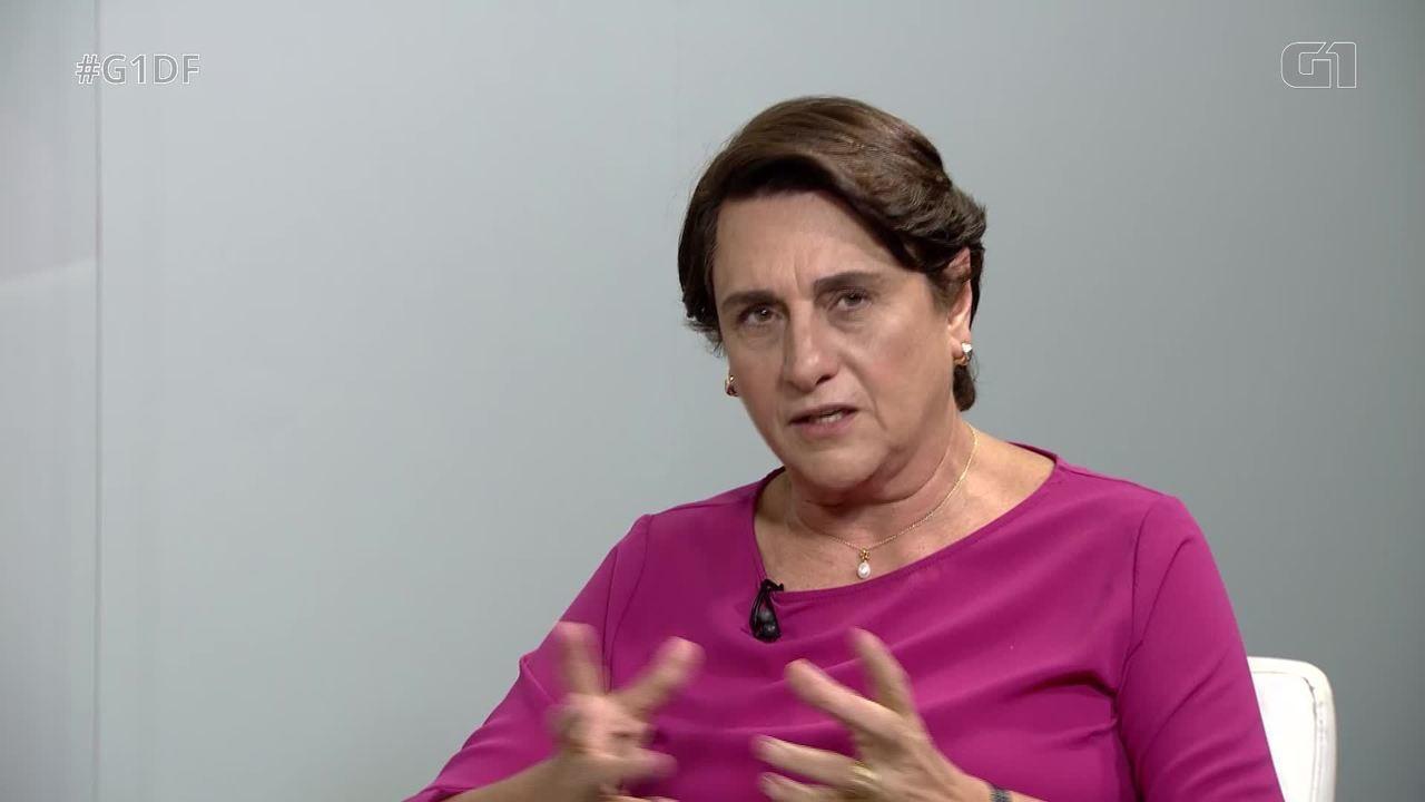 G1 entrevista a candidata ao governo do DF Eliana Pedrosa, do Pros - Íntegra
