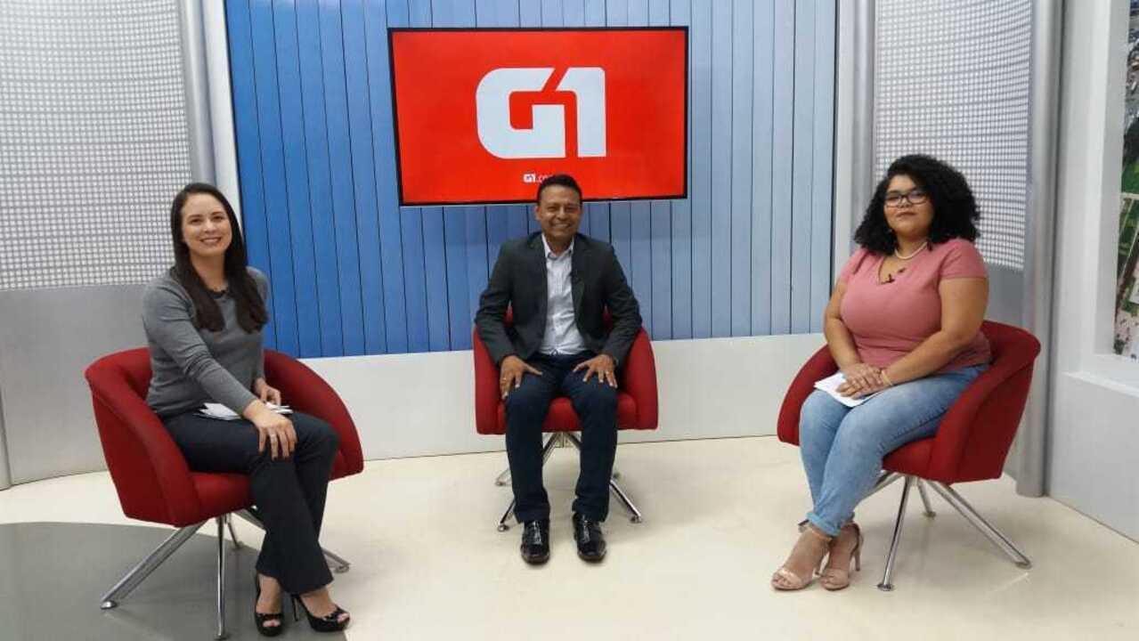 G1 entrevista o candidato ao governo do Amapá, Cirilo, PSL