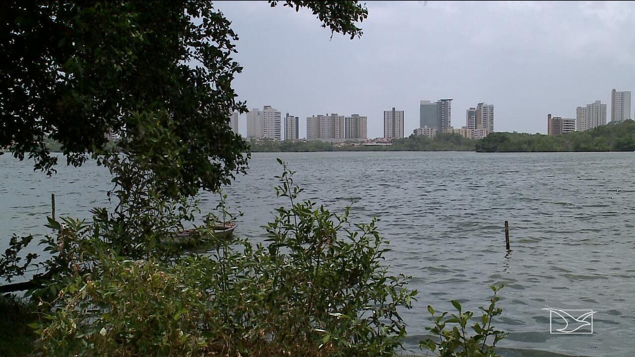 Cresce mau cheiro na Lagoa da Jansen, em São Luís