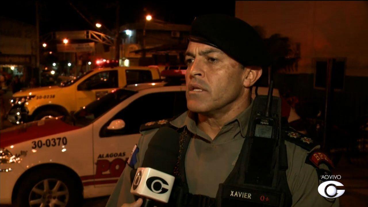 Polícias civil e militar fazem operação conjunta em Maceió