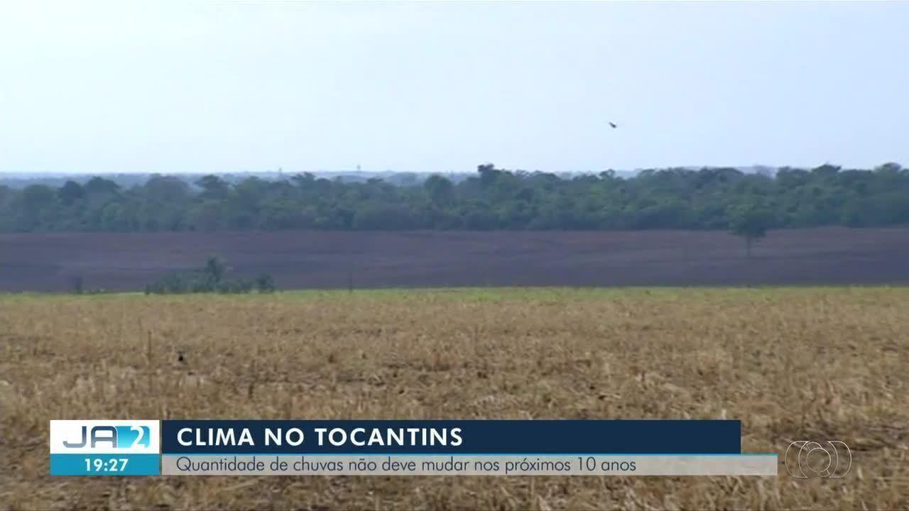 Quantidade de chuvas deve permanecer estável no Tocantins pelo próximos 10 anos