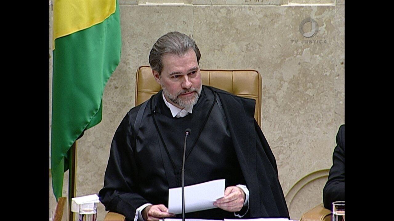 Confira a íntegra do discurso de posse do ministro Dias Toffoli