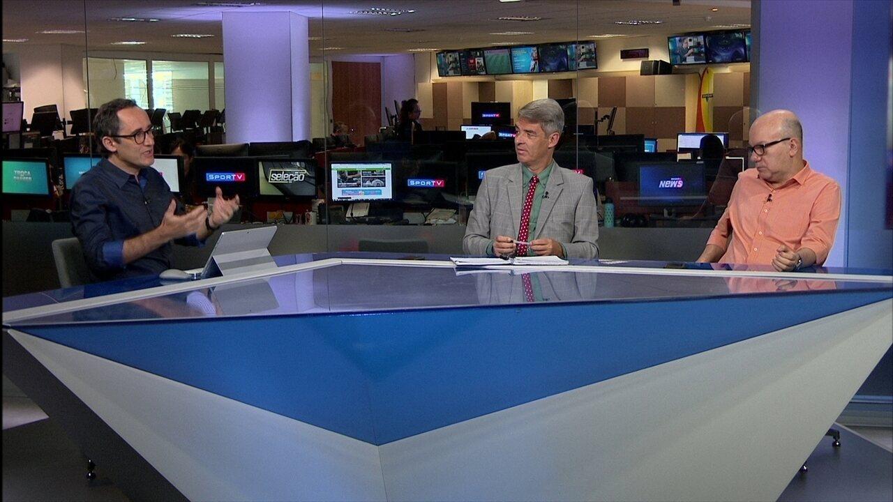 Comentaristas debatem risco de rebaixamento do Vasco
