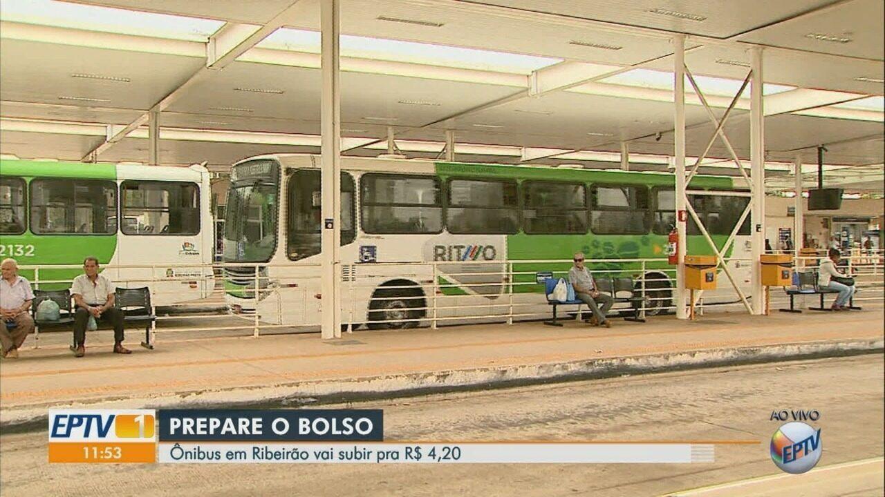 TJ-SP autoriza Prefeitura de Ribeirão Preto aumentar tarifa de ônibus em 6%