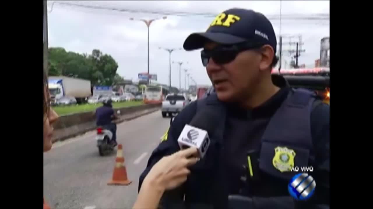 Mulher morre atropelada na rodovia BR-316, na Grande Belém