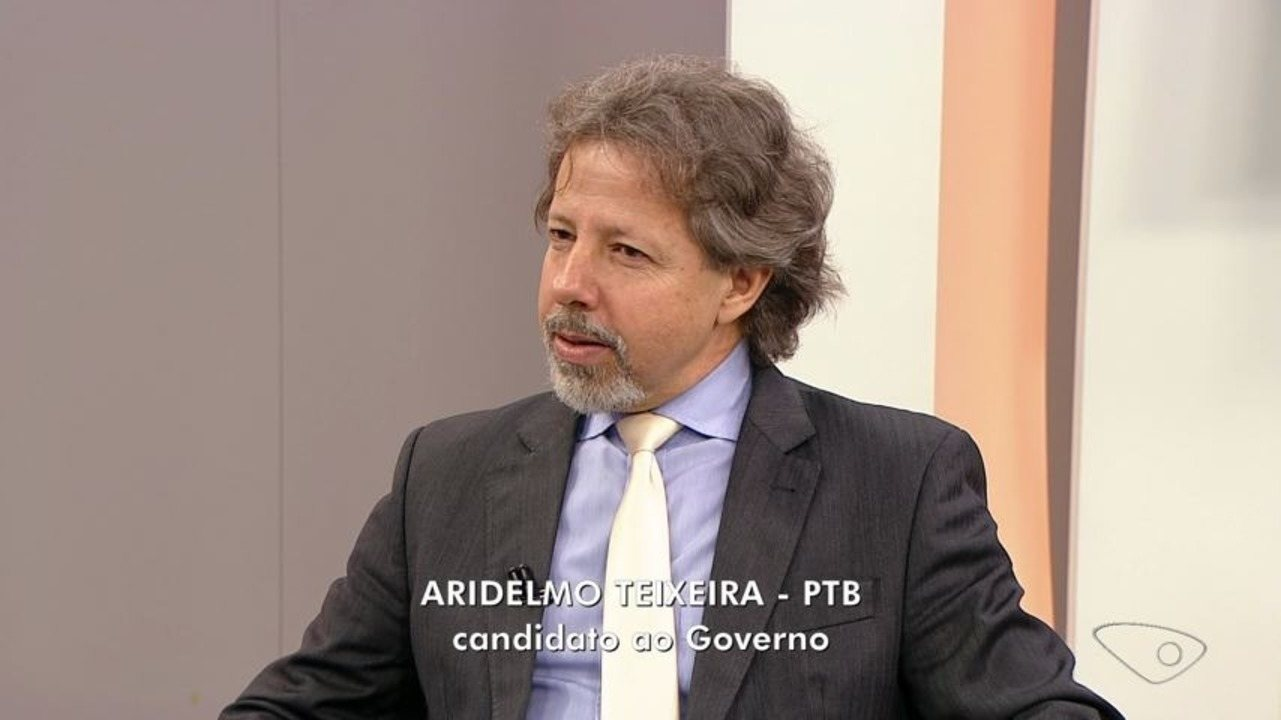 ESTV 1ª Edição entrevista Aridelmo Teixeira