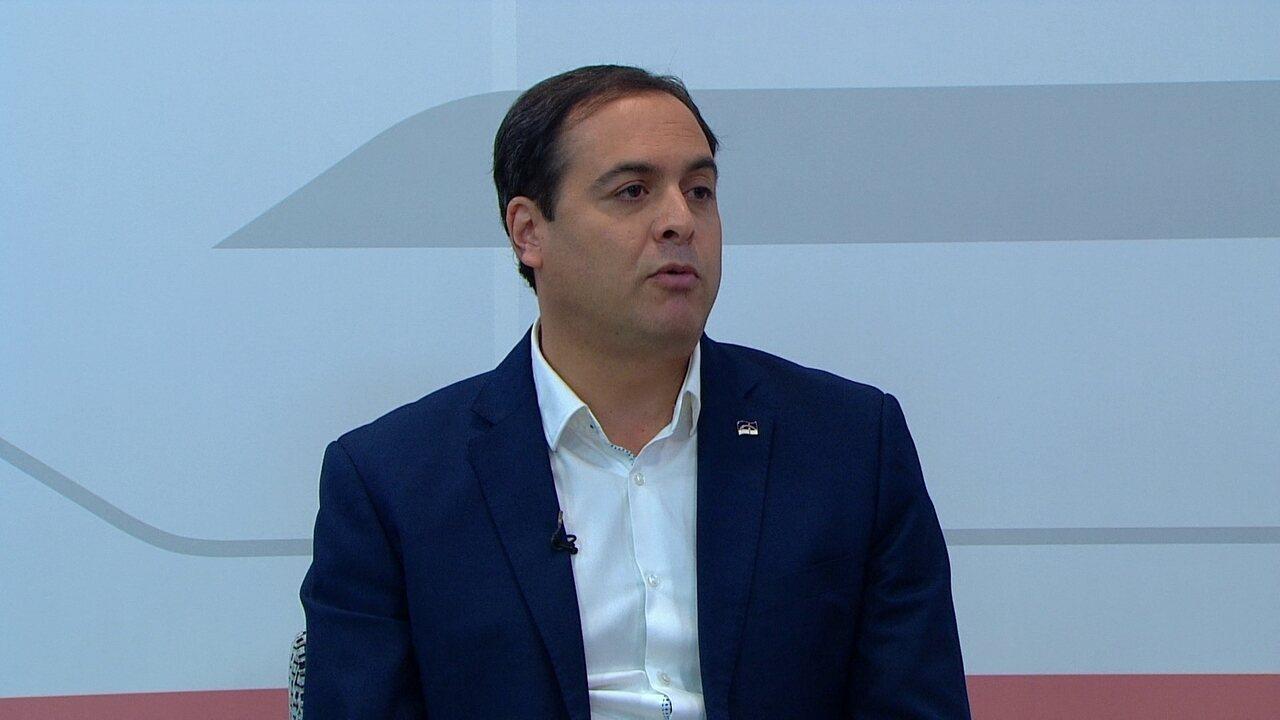 Paulo Câmara diz que governo do presidente Temer 'fez muito mal' ao Brasil