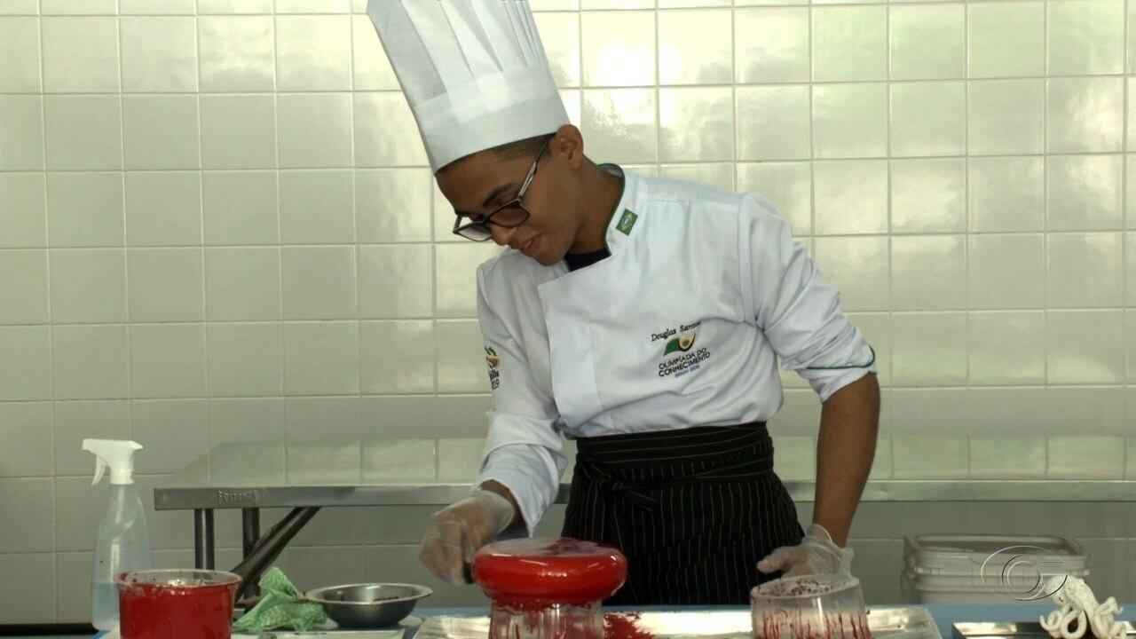 Jovem confeiteiro de Maceió participará de uma competição gastronômica na Alemanha
