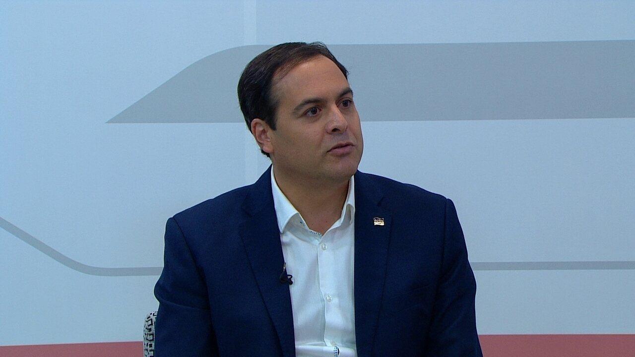 Paulo Câmara responde às perguntas do 'pinga-fogo'