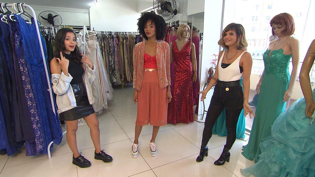 'Expresso' dá dicas de como transformar um vestido de festa num look casual