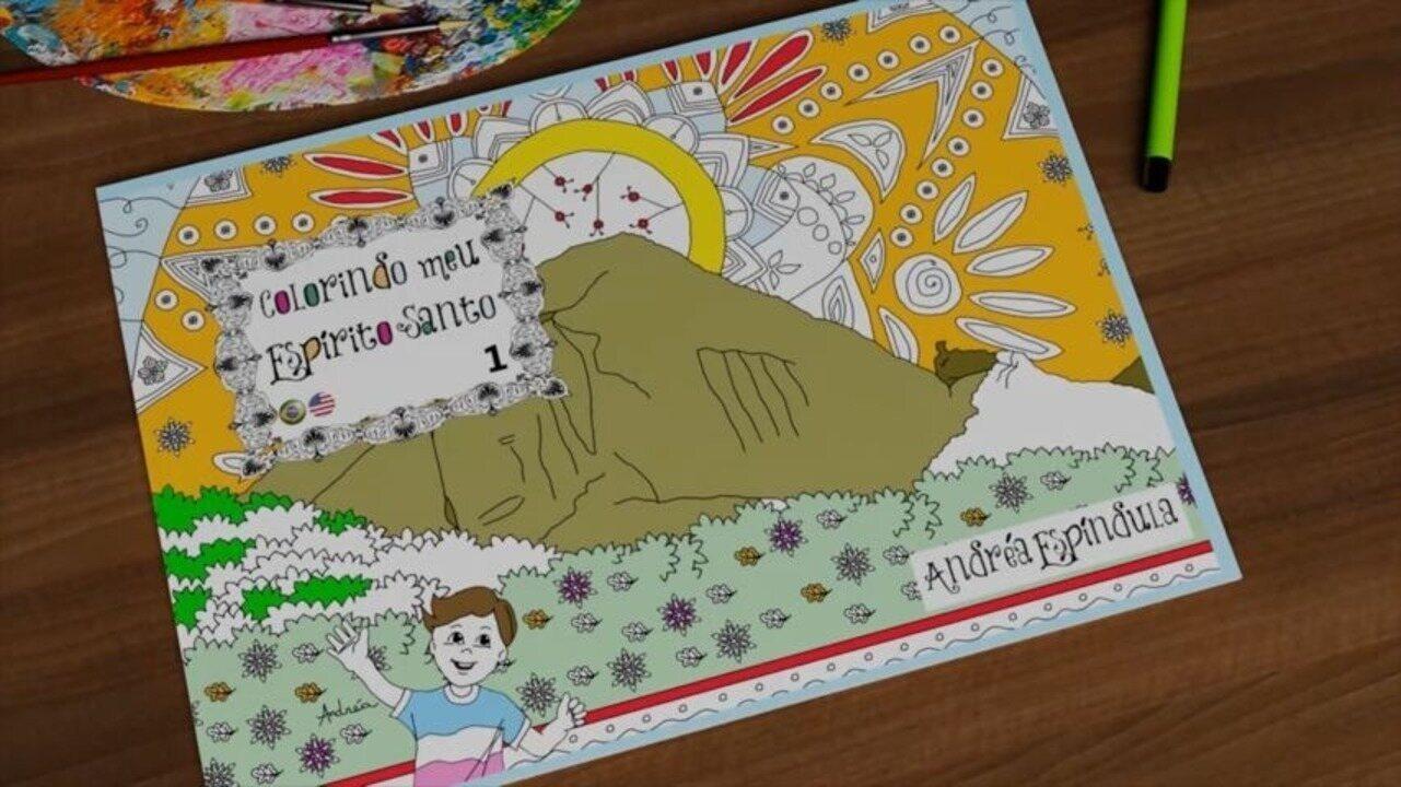 Em Movimento: Passeio pelo Espírito Santo através de um livro de colorir