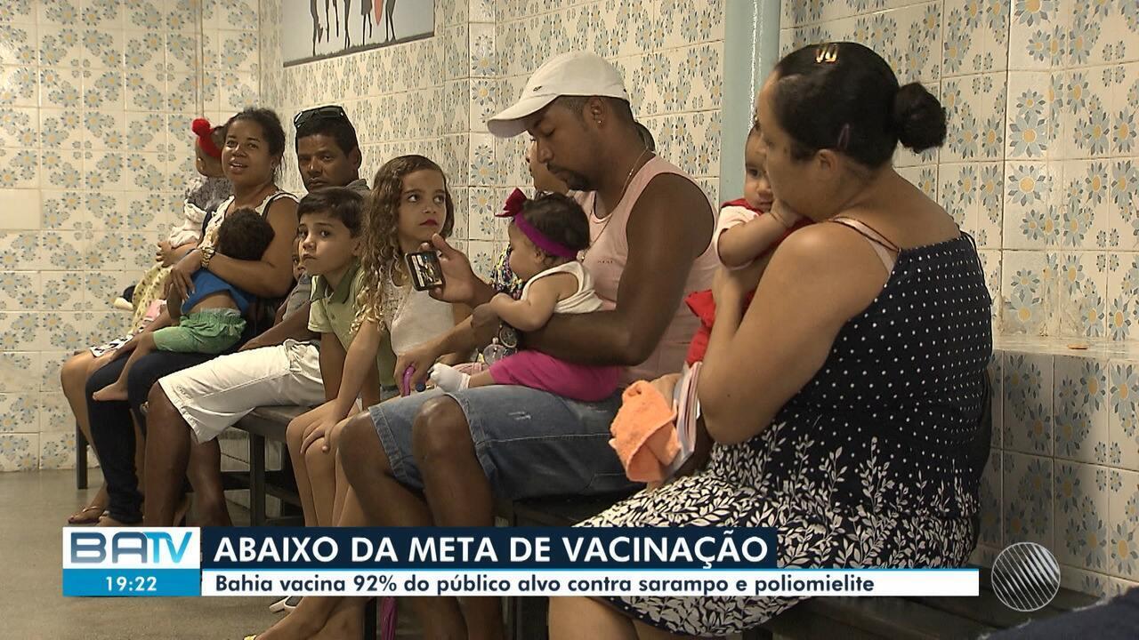 Ministério da Saúde confirma o primeiro caso de sarampo na Bahia