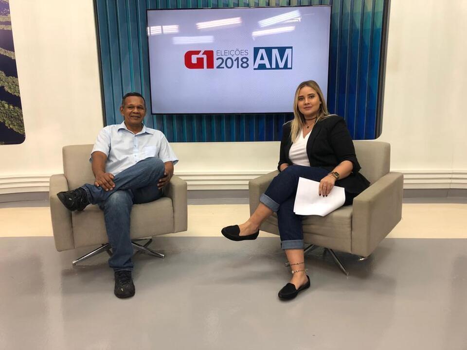 Sidney Cabral participa de entrevista no G1 AM