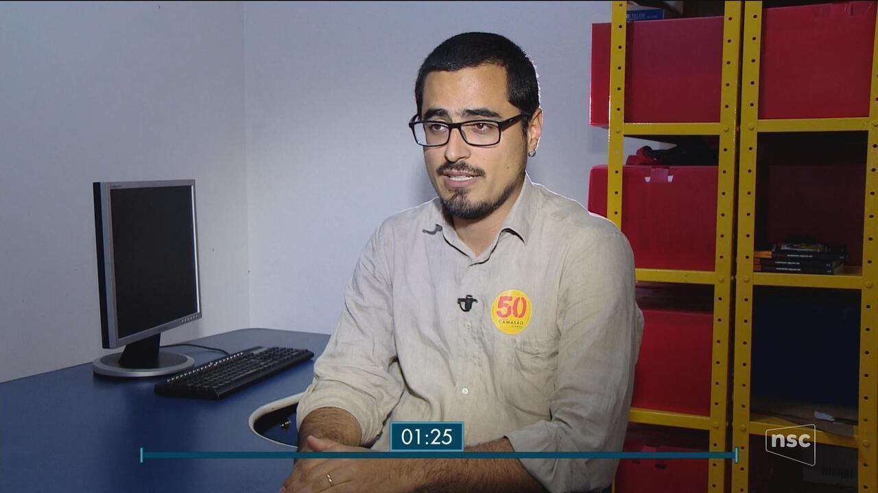 Candidato Leonel Camasão (PSOL) é o entrevistado do Jornal do Almoço