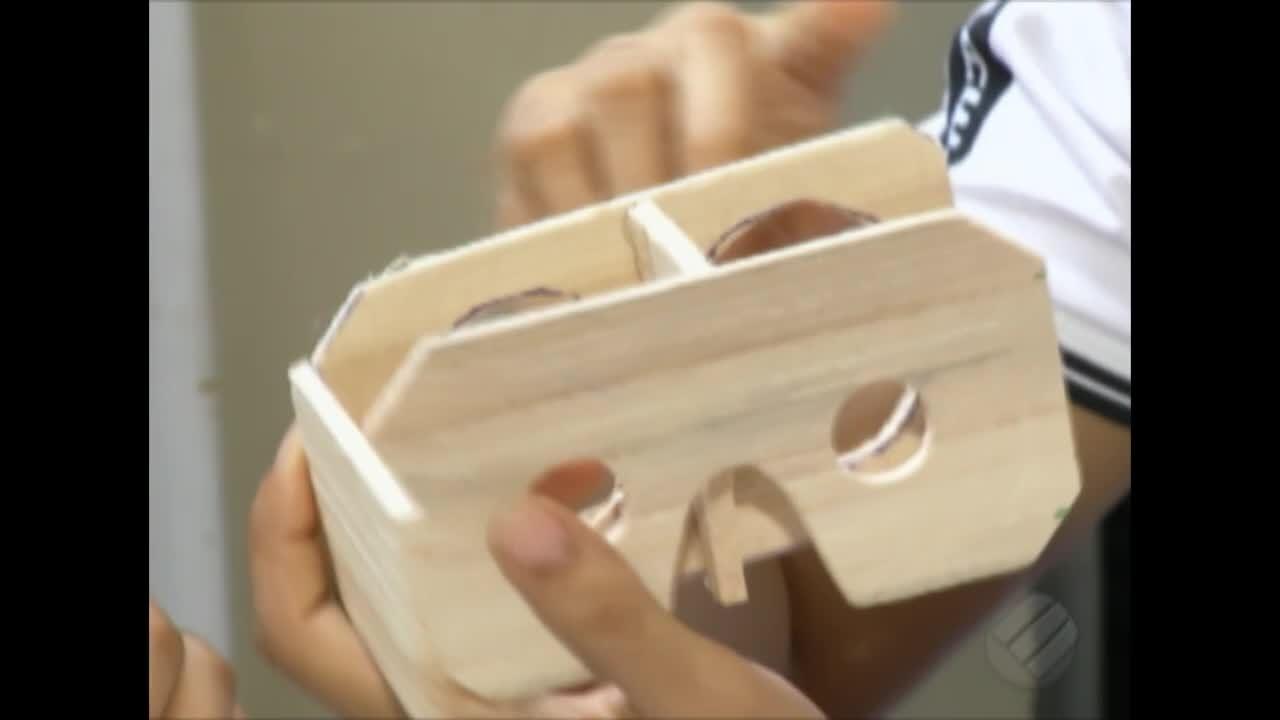 Miriti é utilizado como matéria-prima em um projeto de realidade virtual de escola pública