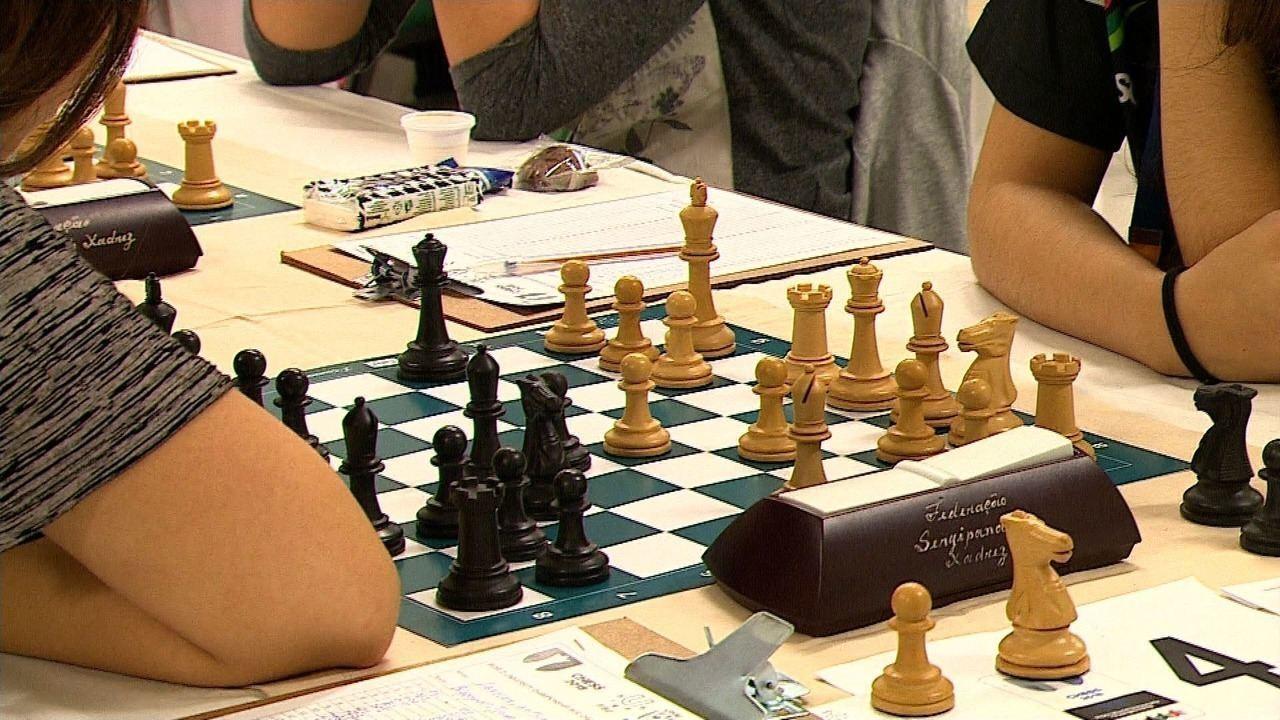 Mundial universitário de xadrez está sendo realizado em Aracaju