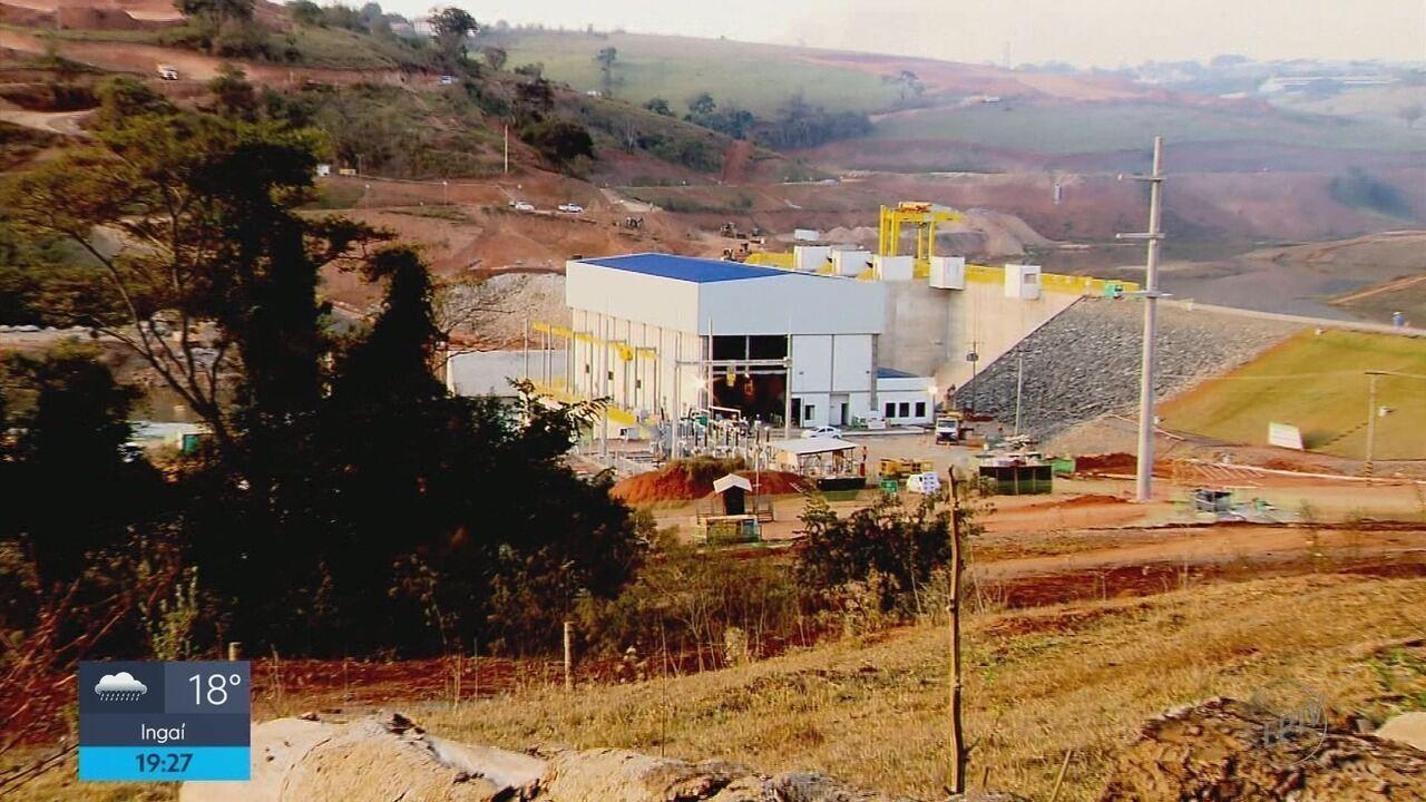 Pequena Central Hidrelétrica começa processo de enchimento de represa em Varginha (MG)