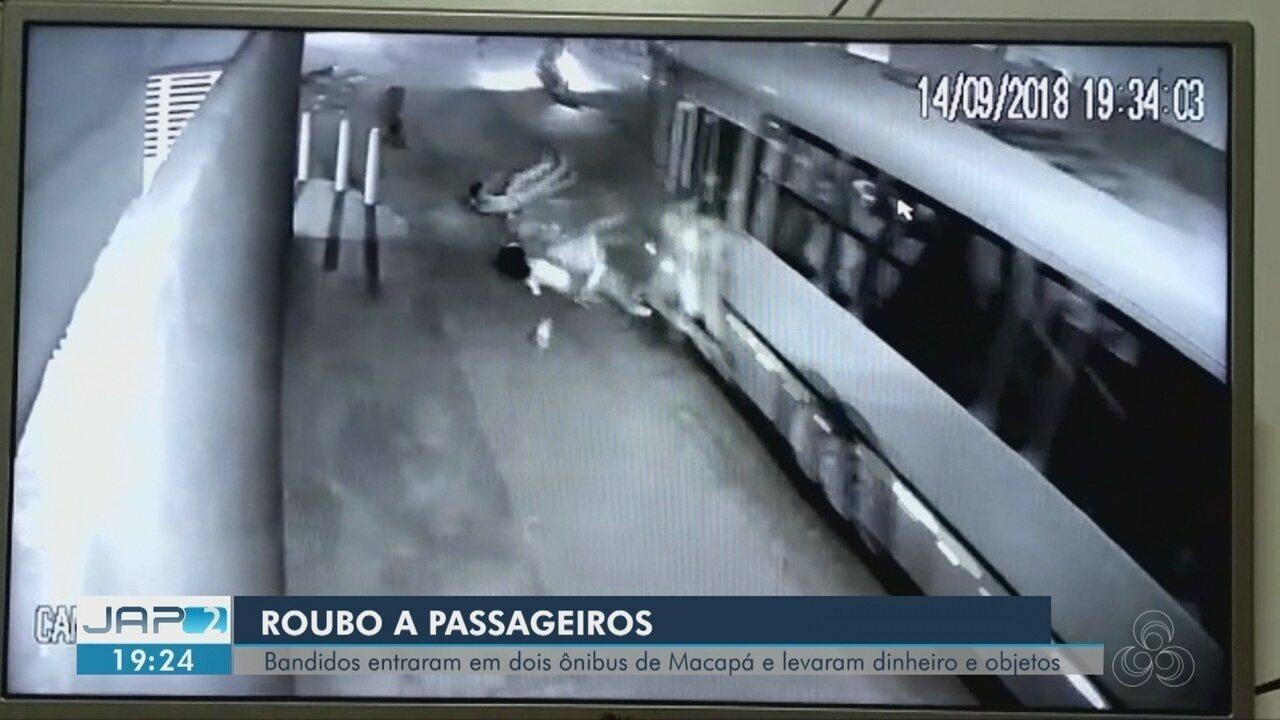 Passageiros pulam de ônibus em movimento para evitar assalto na Zona Sul de Macapá