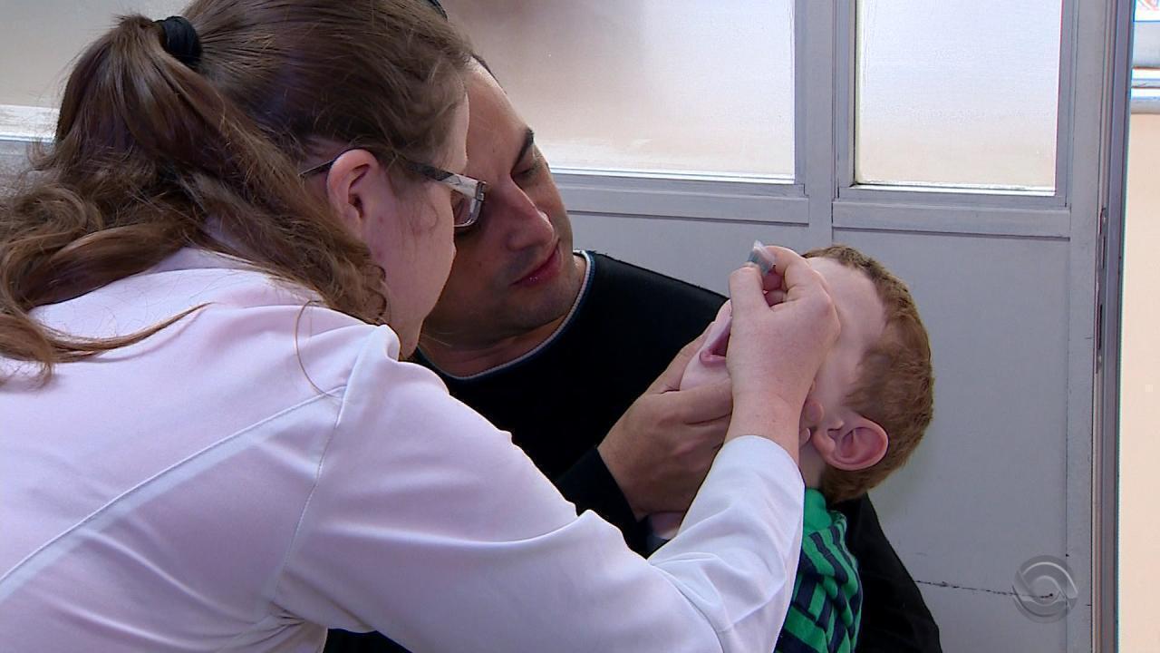 Mesmo com Dia D de vacinação, Porto Alegre não atinge meta contra sarampo e polio