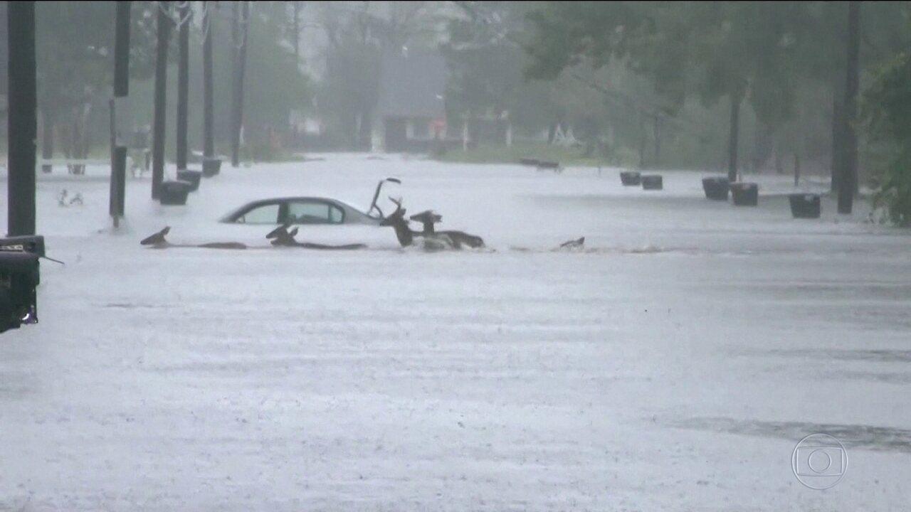 Furacão Florence faz 8 mortos em passagem pelos EUA