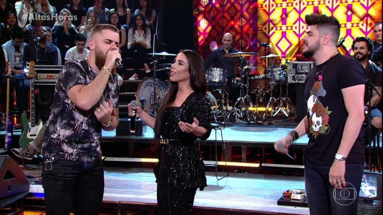 """Zé Neto e Cristiano cantam """"É o Amor"""" com Wanessa Camargo"""