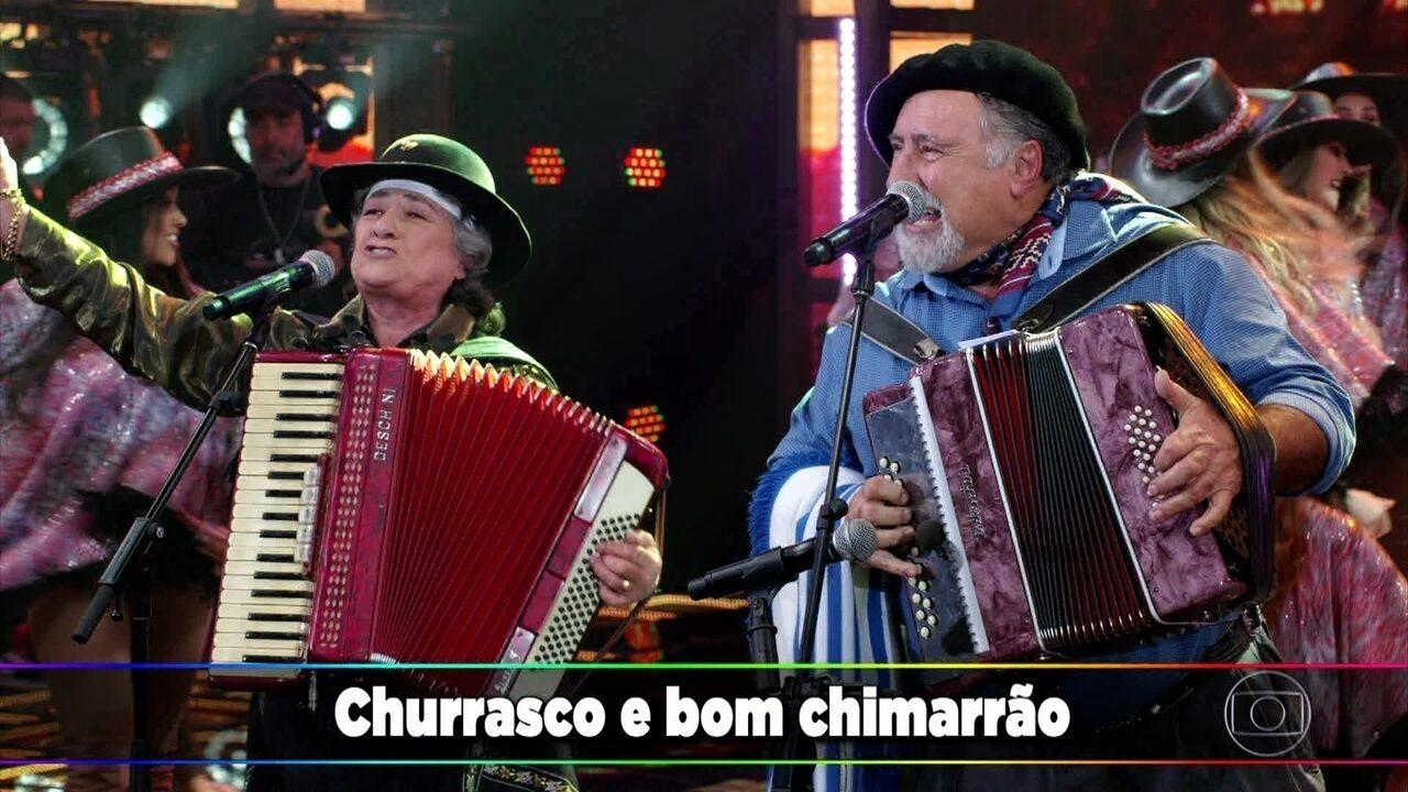 Gaúcho da Fronteira apresenta clássico 'É Disso Que O Velho Gosta'