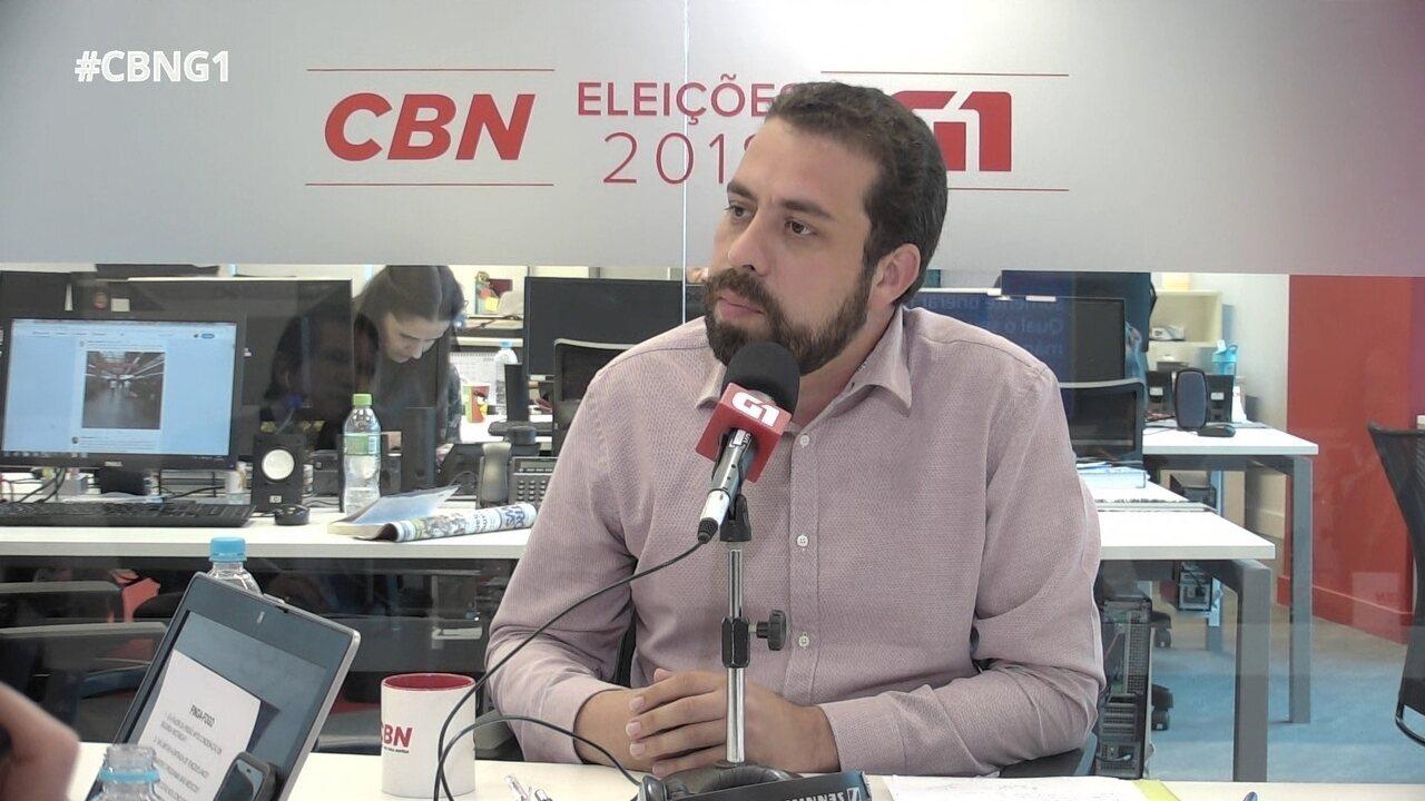 Parte 7: Guilherme Boulos responde a perguntas do 'pinga-fogo'
