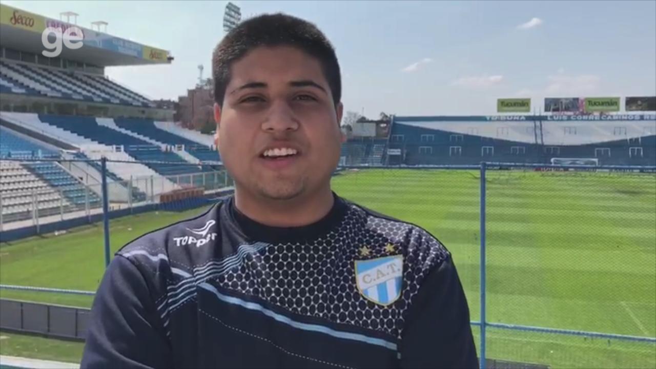 Torcedor do Tucumán fala sobre expectativa para a decisão contra o Grêmio