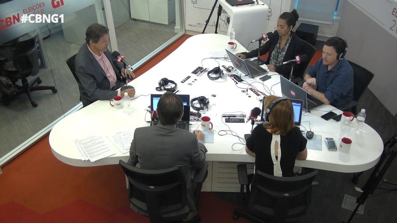 Haddad fala de Lula, aliança com apoiadores do impeachment e gestão do PT