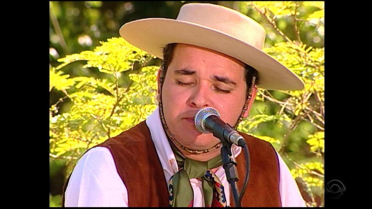 Léo Pain participa de 'Galpão Crioulo' em 2009