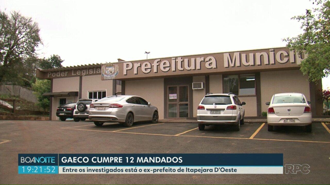 Gaeco investiga desvio de dinheiro em Itapejara do Oeste