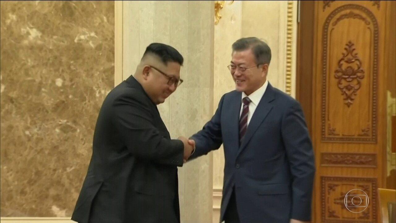 Presidente sul-coreano visita a Coreia do Norte