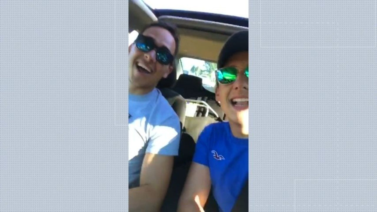 Capixaba que morreu atacado por tubarão mandou vídeo para família a caminho de praia