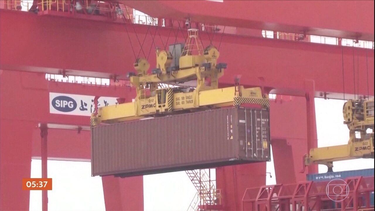 China reage contra o aumento de tarifas dos EUA para produtos chineses