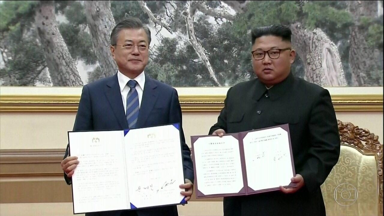 Coreia do Norte se compromete a destruir local de teste de mísseis