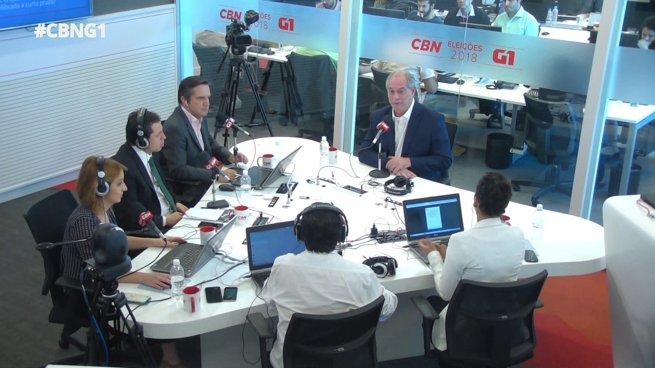 Ciro Gomes fala sobre reforma tributária e subsídio ao diesel