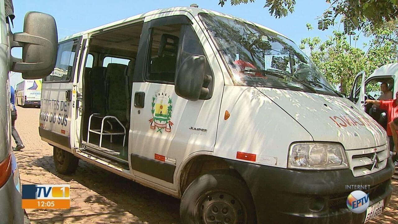 Pacientes relatam transferência em carro comum por falta de ambulância em Bebedouro, SP