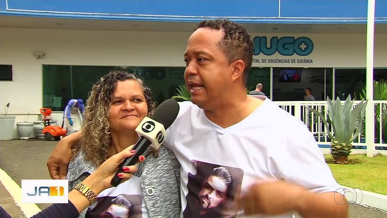 Jovem baleado na cabeça por PM sai da UTI e se recupera bem em Goiânia, diz família