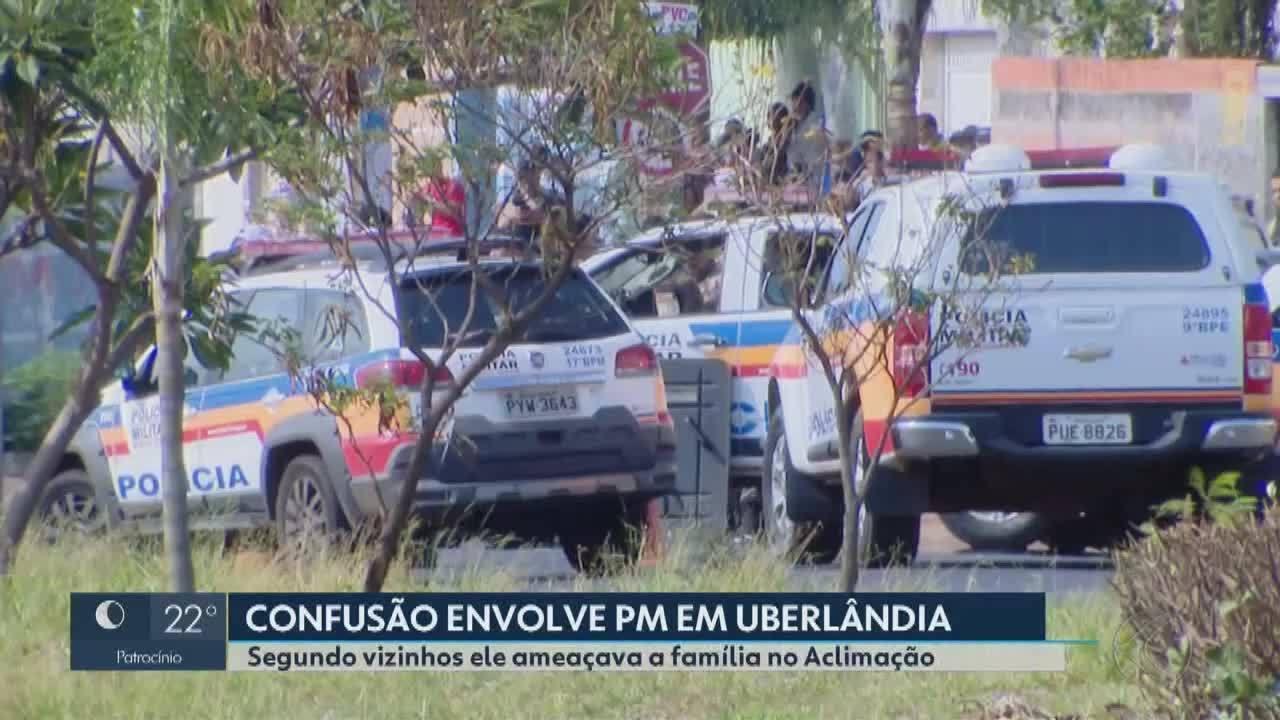 Sargento faz ameaças contra família e mobiliza Polícia Militar em Uberlândia