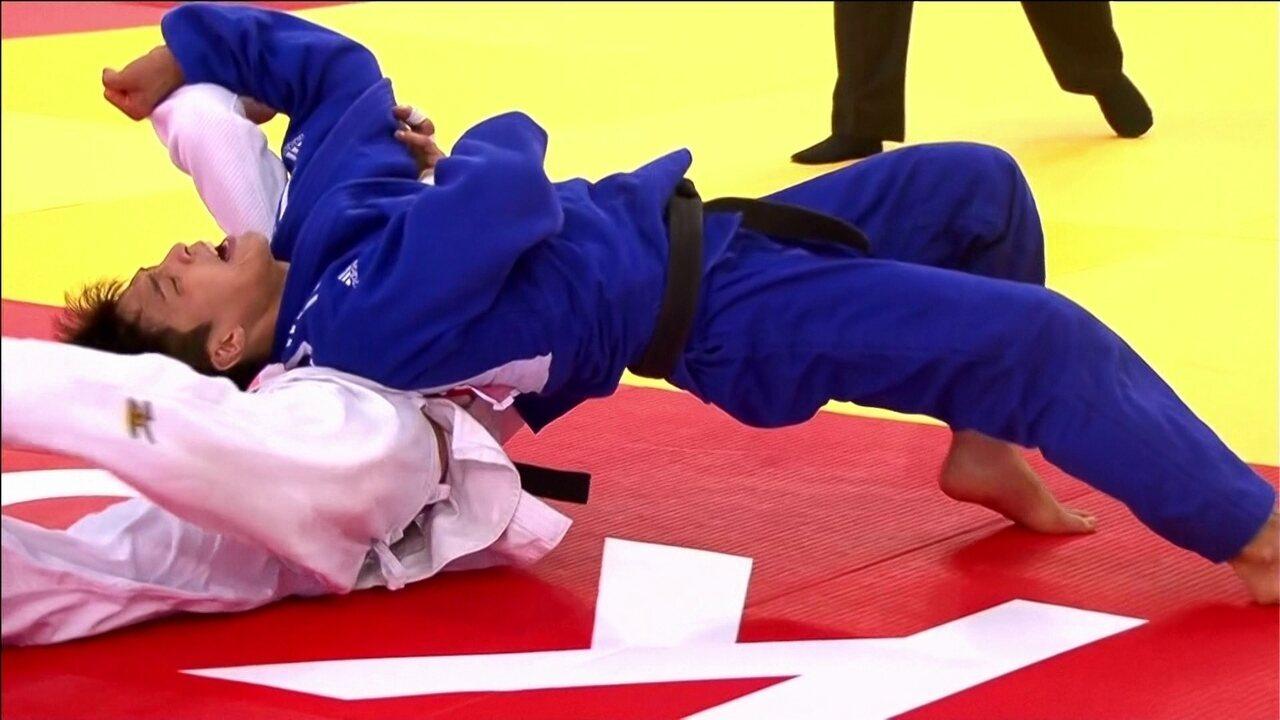 Daniel Cargnin perde para coreano na disputa pelo bronze do Mundial de judô
