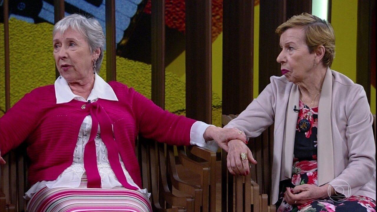 Meire e Marilene Galvão falam sobre o Alzheimer