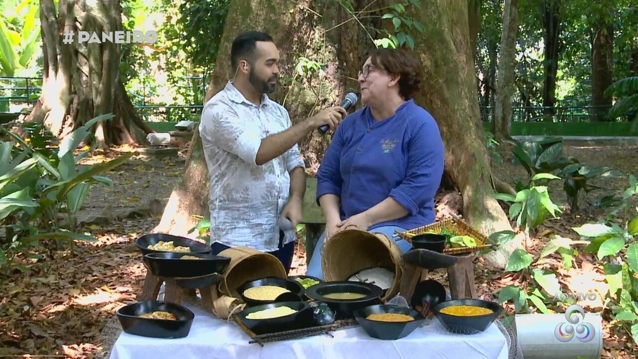Parte 2: Chef de cozinha monta prato da culinária amazônica