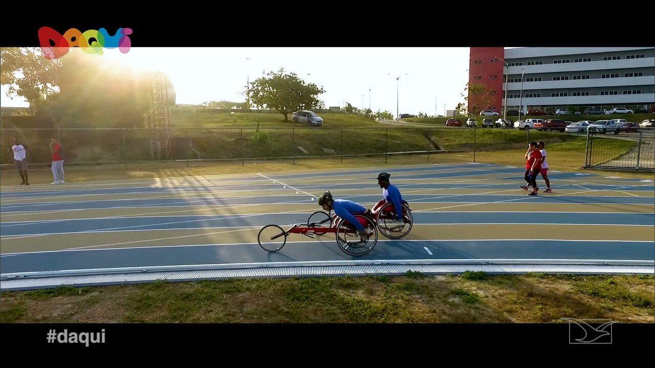 O quadro Comunidade conta a história de superação de dois atletas paralímpicos